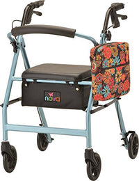NOVA Universal Tote Bag for Folding Walker, Rollators, Wheelchairs and Scooters