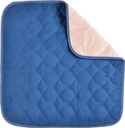 NOVA Waterproof Reusable Underpad with 100% Cotton Skin Soft Top Layer, Washable Incontinence Bed and Surface Overlay, Super Absorbent