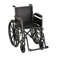 "16"" Steel Wheelchair Detachable Arms & Footrests - 1 Each/Each - 5166S"