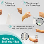 Male Urinal Bag with Super Absorbent Pad, 20 Count