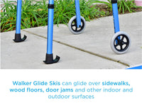 "Walker Skis 1 1/8"" (Pair)"