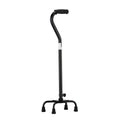 Heavy Duty Aluminum Quad Cane w/ Small Base