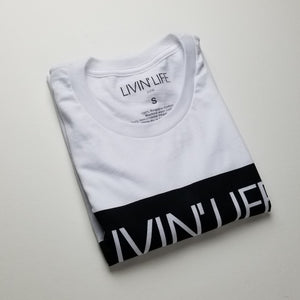 LIVIN' LIFE Signature T-shirt White