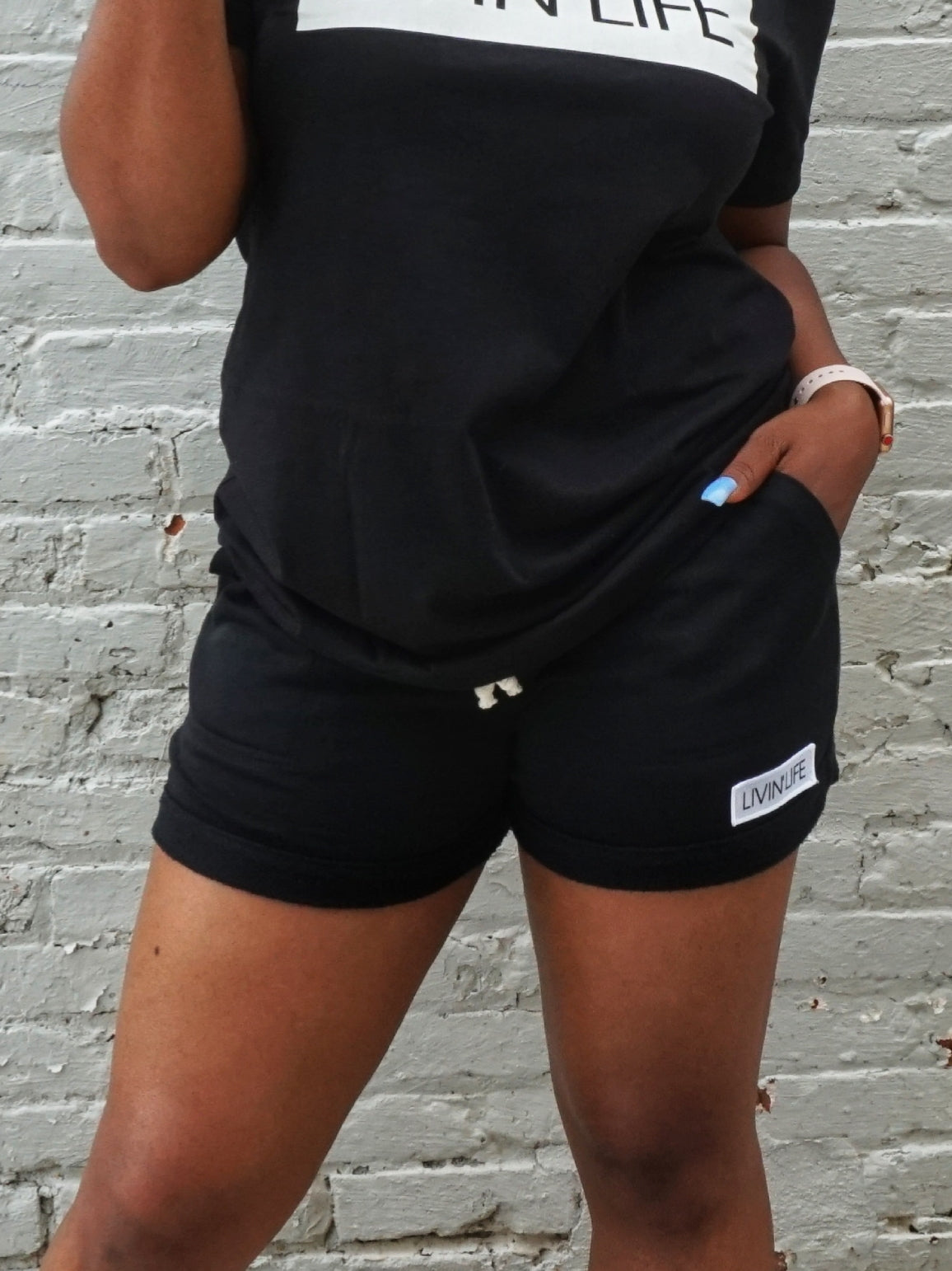 French Terry Shorts (Black)