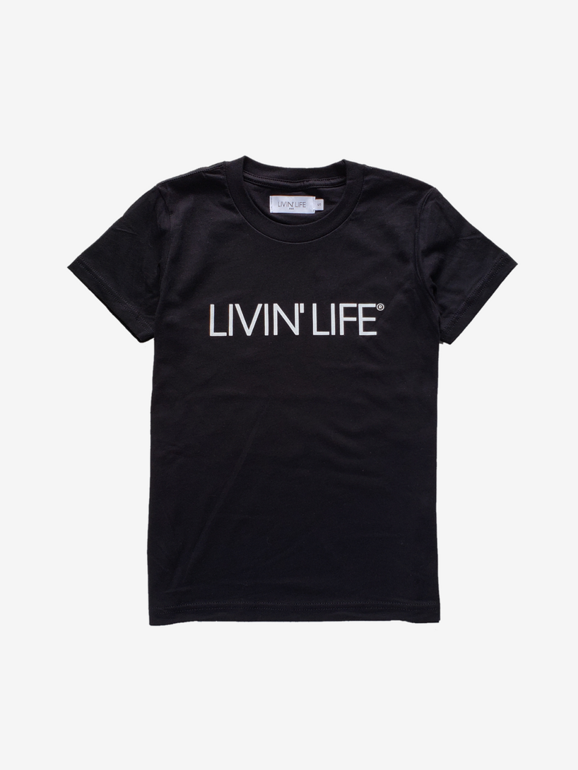Kids' Signature Tee (Black)