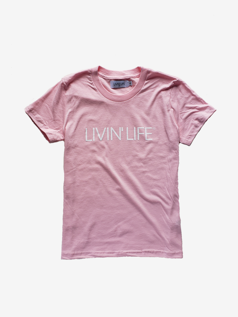 Kids' Signature T-Shirt (Pink)