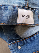 Load image into Gallery viewer, LnL Logo Stretch Denim Jacket