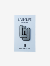 "Load image into Gallery viewer, Signature ""LnL"" Enamel Pin"