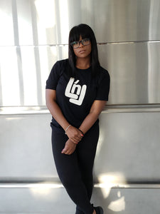 "Signature ""LnL"" T-Shirt (Black)"