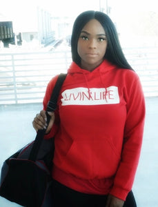Box Signature Hoodie (Red)