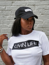 Load image into Gallery viewer, LIVIN' LIFE® Signature T-Shirt (White/Black)