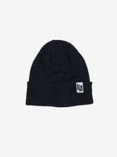 Load image into Gallery viewer, Cotton Knit Beanie (Black)