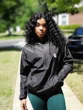 "Load image into Gallery viewer, Signature ""LnL"" Lightweight Anorak (Black)"