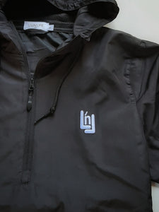 "Signature ""LnL"" Lightweight Anorak (Black)"