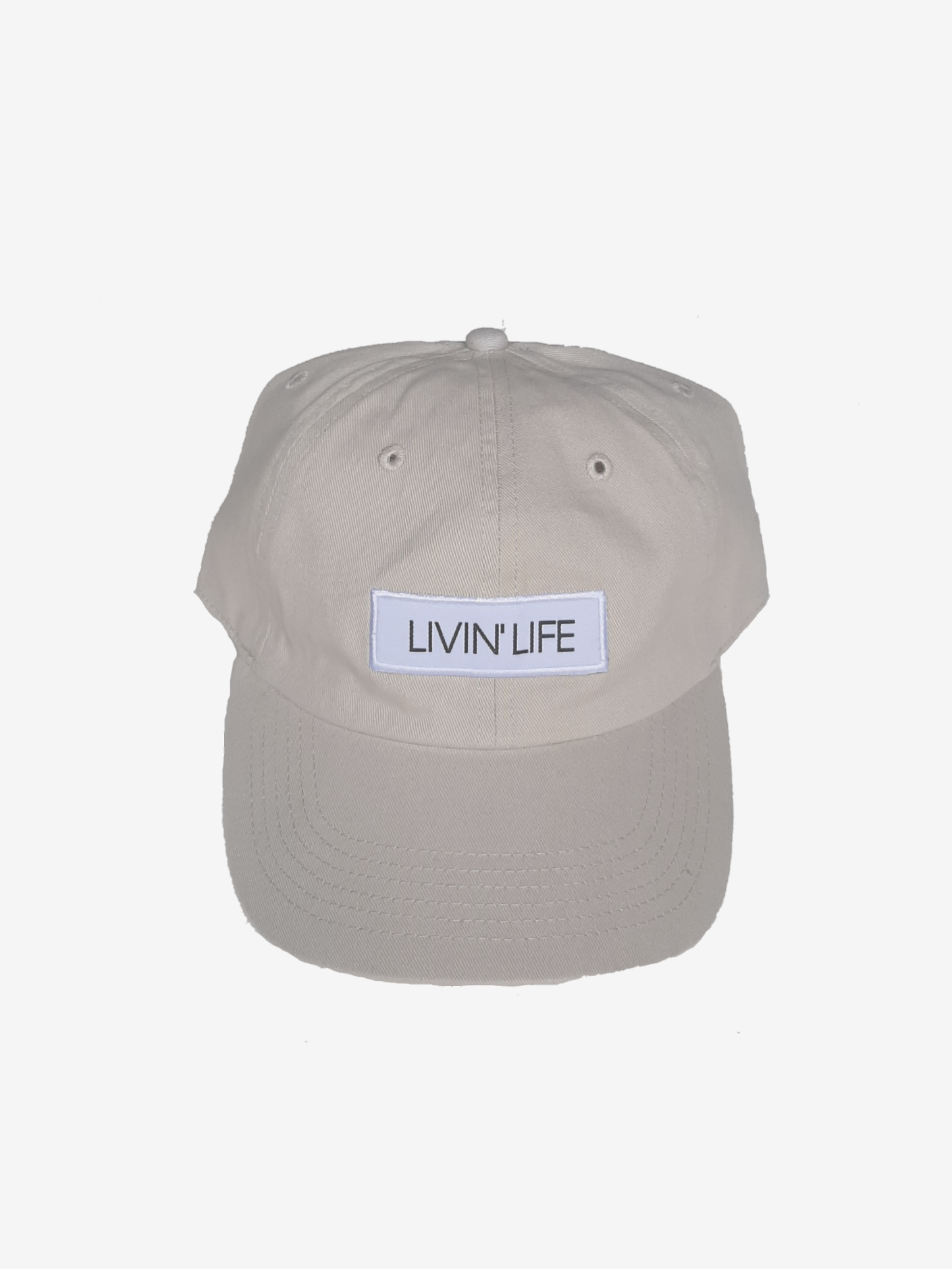 Signature Patch Hat (Bone)