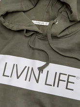 Load image into Gallery viewer, Signature Hoodie (Military Green/White)