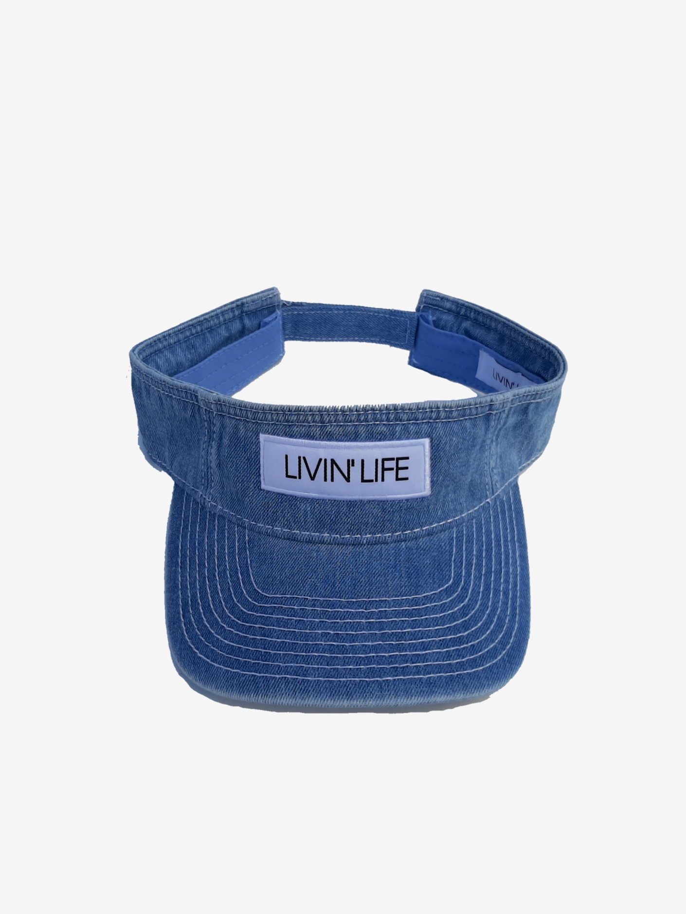 Signature Patch Visor (Denim)