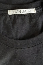 "Load image into Gallery viewer, Signature ""LnL"" Tee (Black/White)"