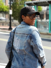 "Load image into Gallery viewer, Signature ""LnL"" Denim Jacket"