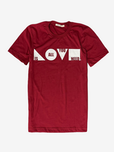 Load image into Gallery viewer, LIVIN LIFE Love Is All You Need Tee Cardinal