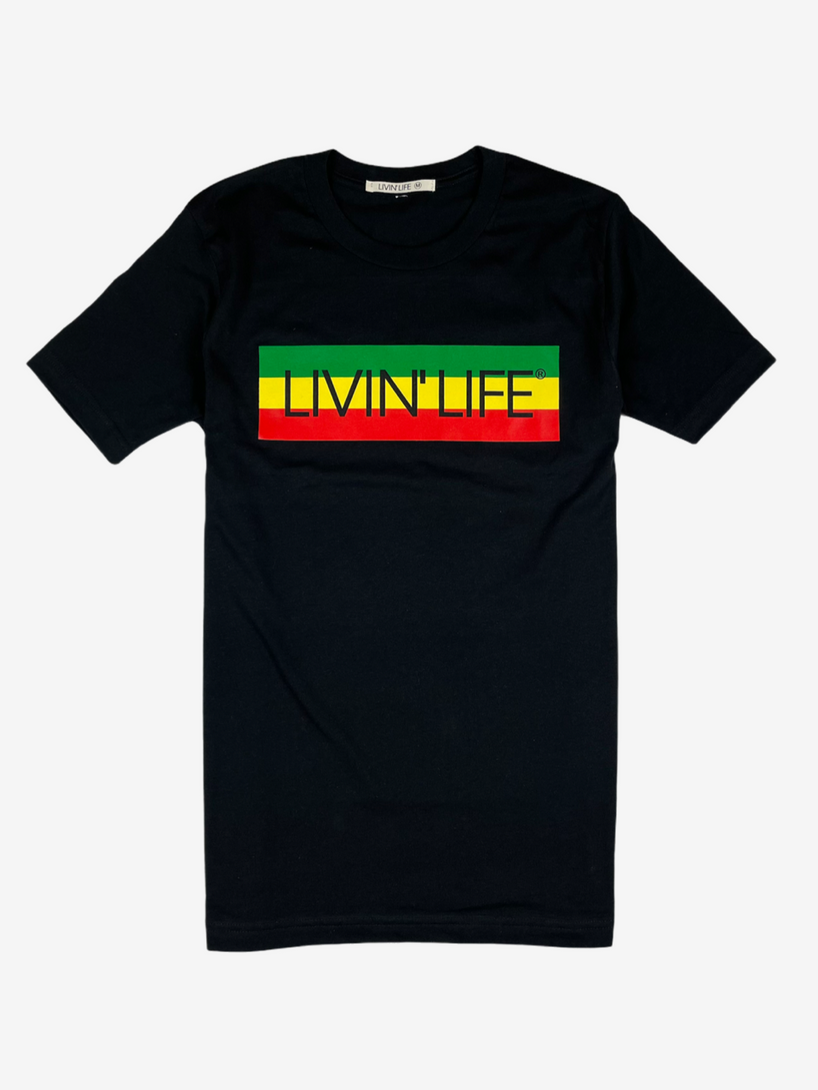 """IRIE"" Signature Tee (Black)"