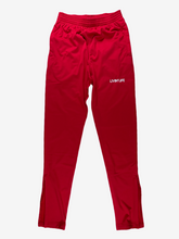 Load image into Gallery viewer, Embroidered Tricot Track Pants (Red)