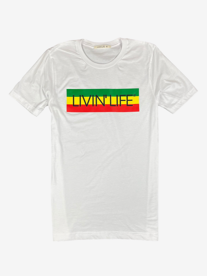 """IRIE"" Signature Tee (White)"