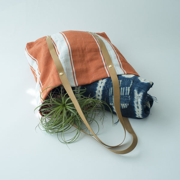 Petel Tote - Orange