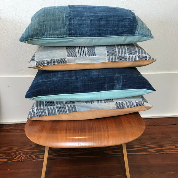 Petel Indigo Patchwork Pillow