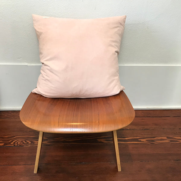 Petel Pink Suede Pillow