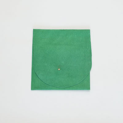 Suede Leather Pouch (Green)