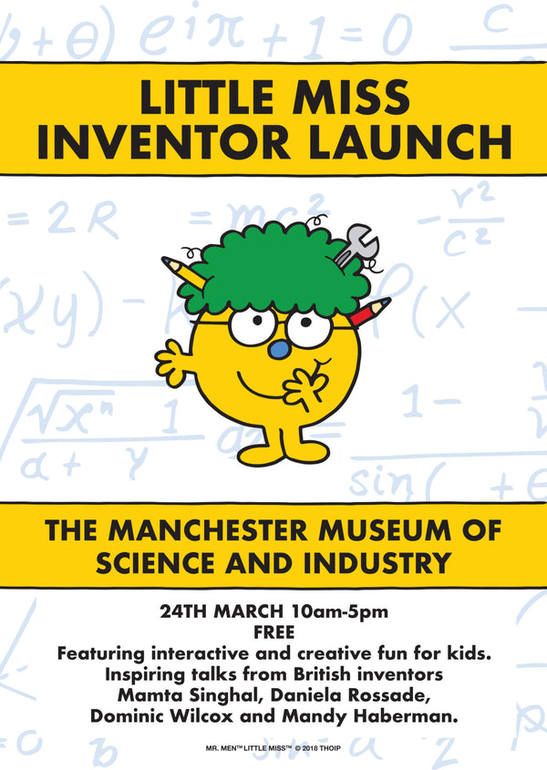 Little Miss Inventor Launch - MSI, Manchester, 24th March