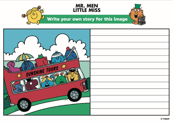 Write your own Mr Men story