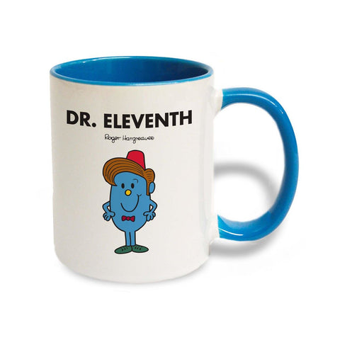 Dr. Eleventh Large Porcelain Colour Handle Mug