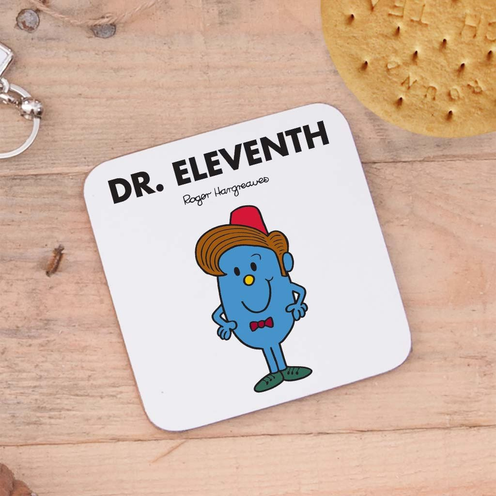 Four Doctors Cork Coaster Set (Dr Eleventh)