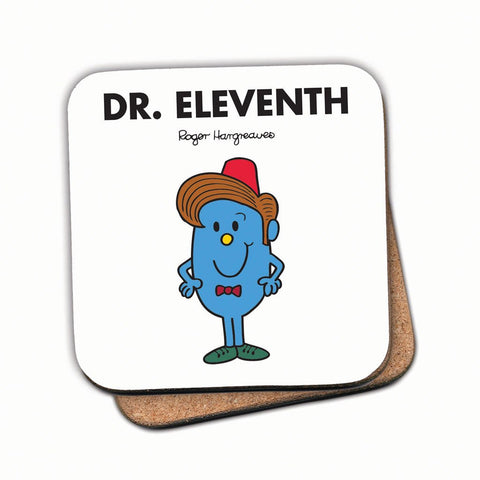 Dr. Eleventh Cork Coaster