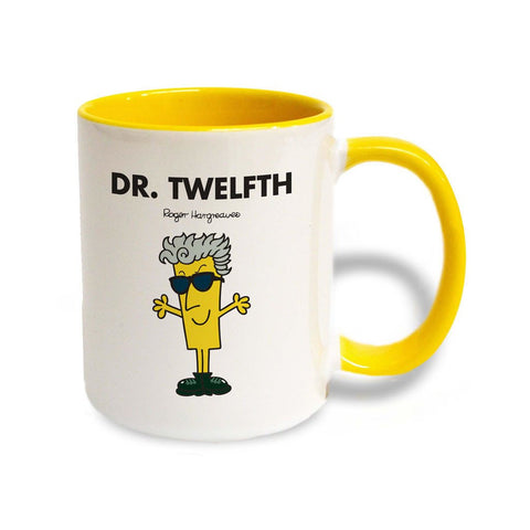 Dr. Twelfth Large Porcelain Colour Handle Mug