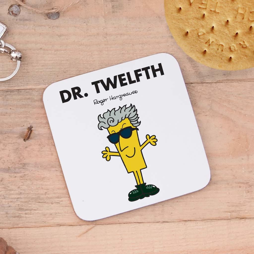 Four Doctors Cork Coaster Set (Dr Twelfth)