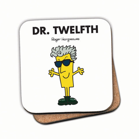 Dr. Twelfth Cork Coaster
