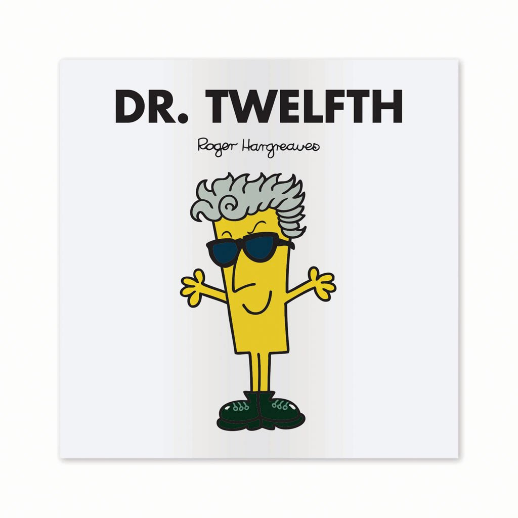 Dr. Twelfth Mounted Art Print