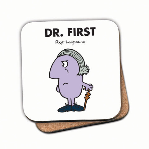 Dr. First Cork Coaster