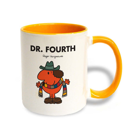 Dr. Fourth Large Porcelain Colour Handle Mug