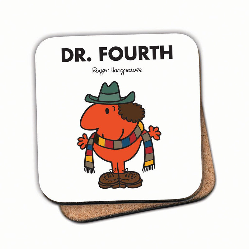 Dr. Fourth Cork Coaster