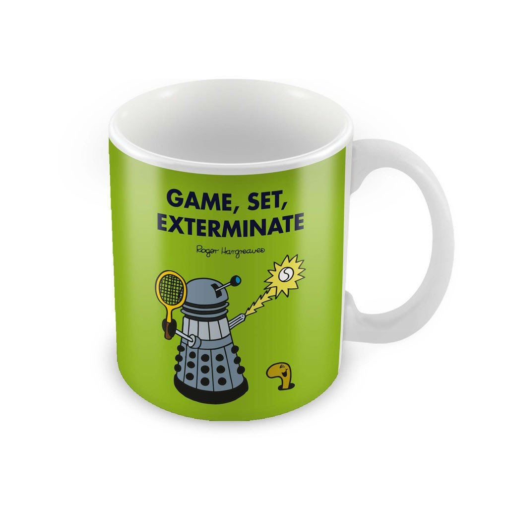 Game, Set, Exterminate Porcelain Mug