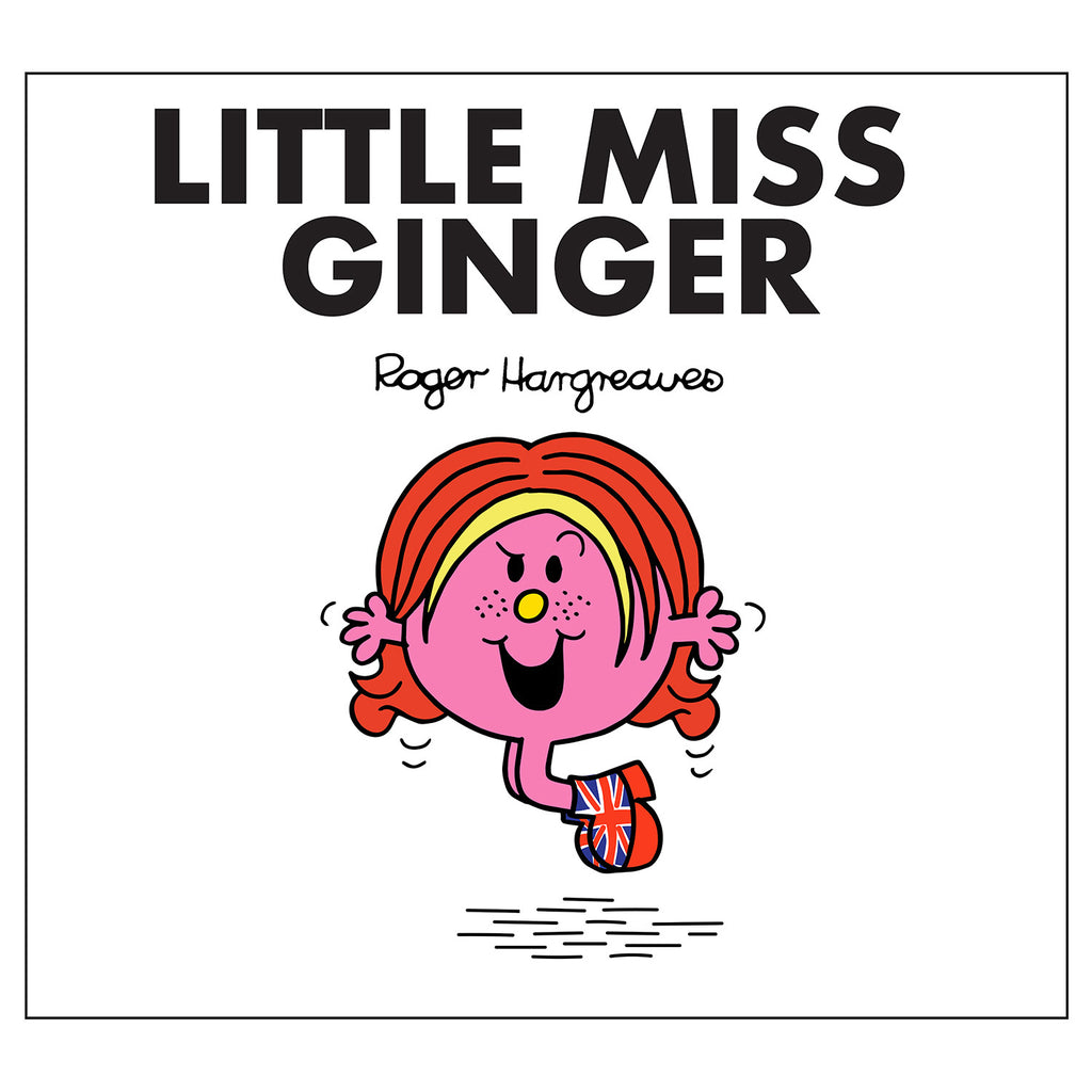 Little Miss Ginger Spice Girls Book