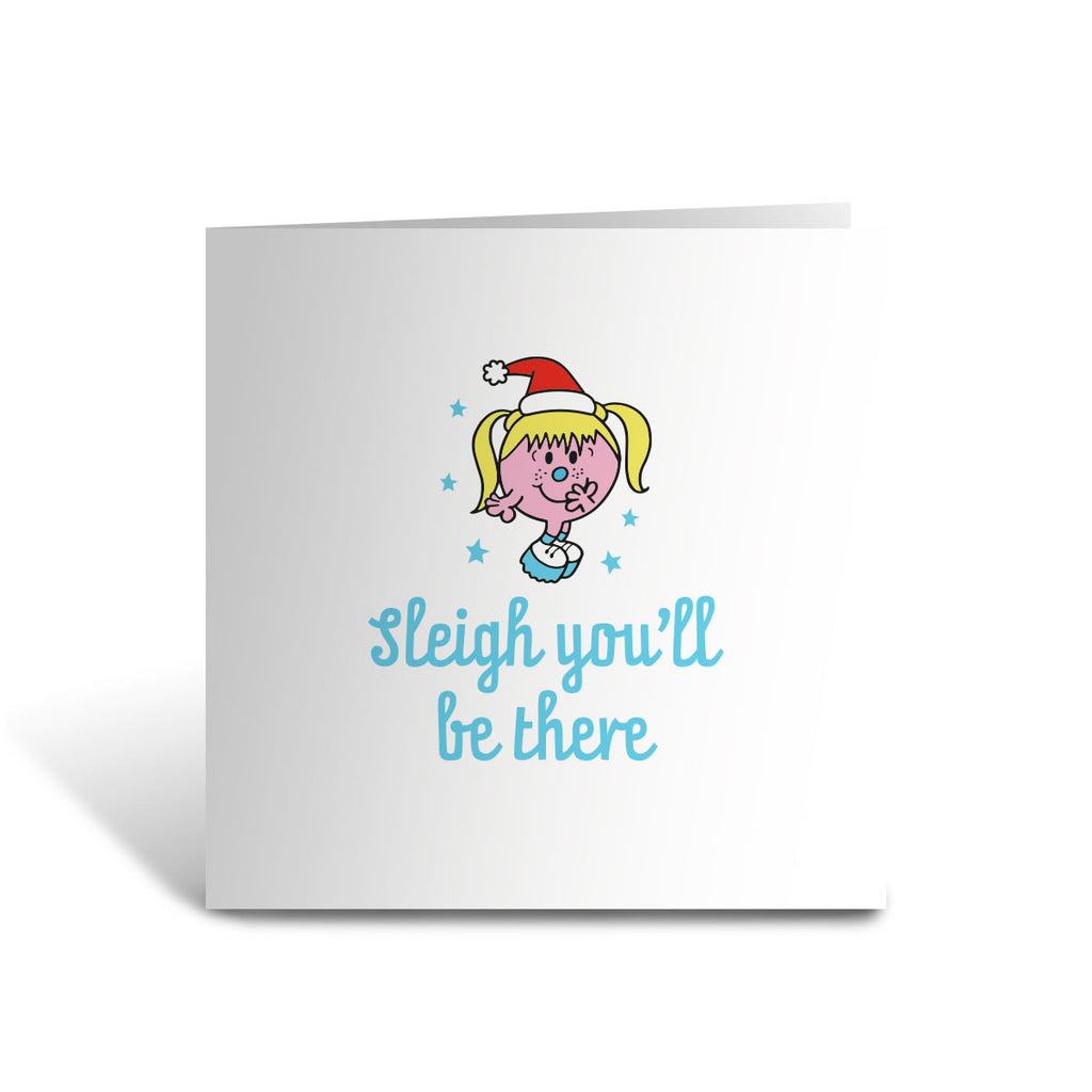 Little Miss Baby Christmas Card