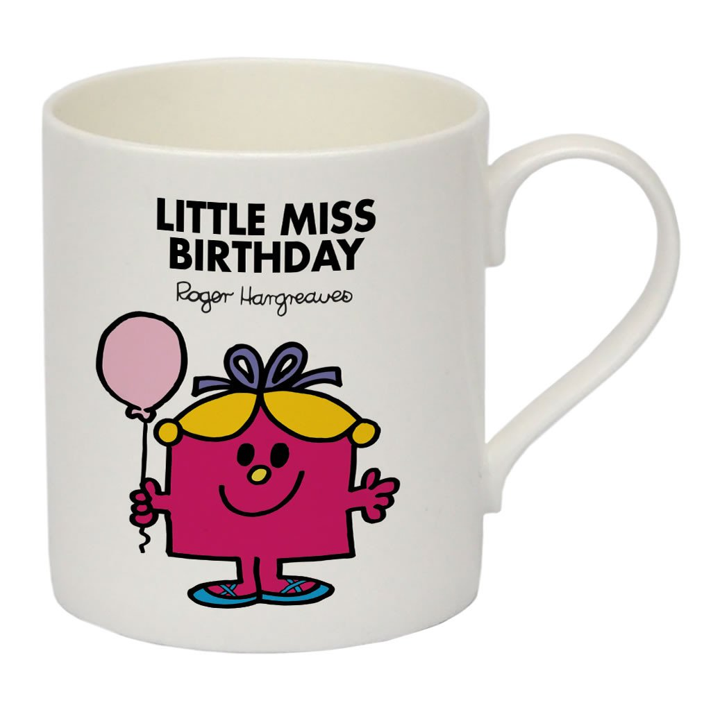 Little Miss Birthday Bone China Mug
