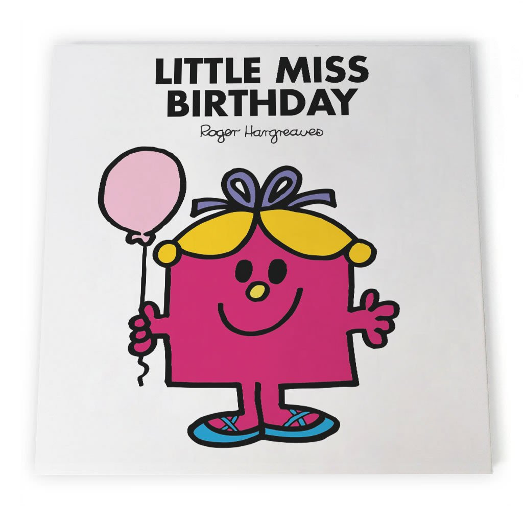 Little Miss Birthday Canvas