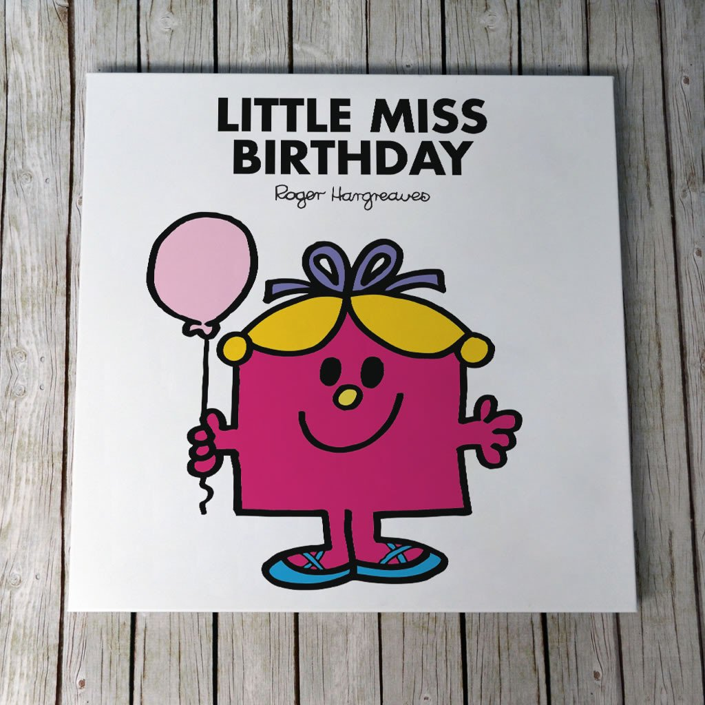 Little Miss Birthday Canvas (Lifestyle)