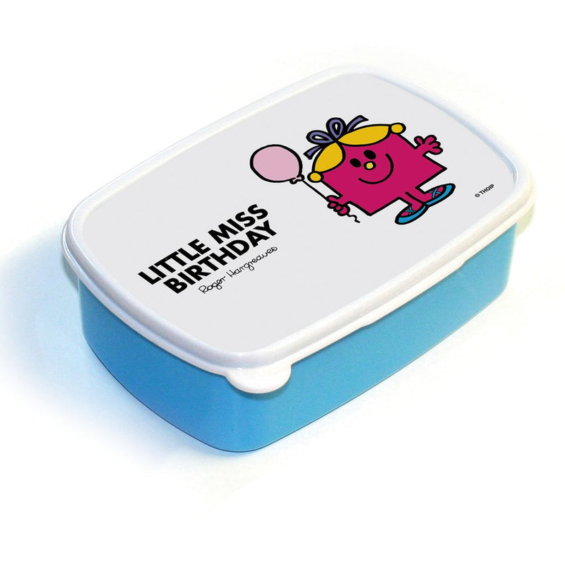 Little Miss Birthday Lunchbox (Blue)